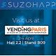 SUZOHAPP a Vending Paris con la sua offerta completa per la DA