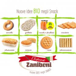 Da Dispensa Zaniboni nuove idee bio negli snack
