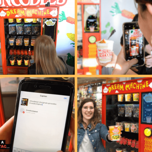 La vending machine che accetta i post di Instagram come valuta