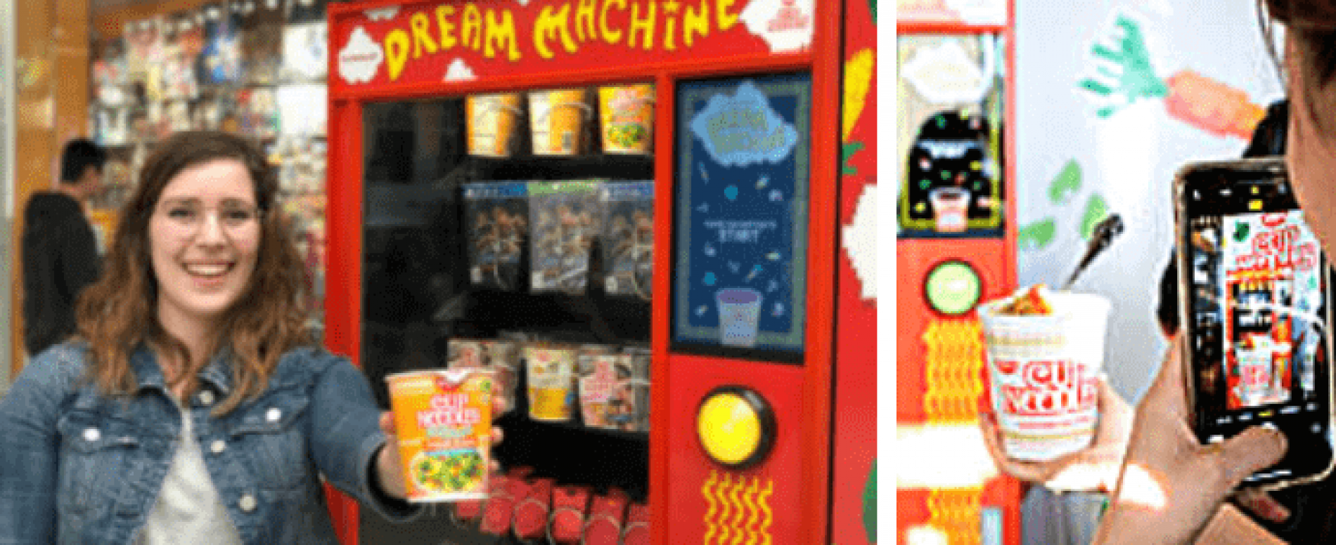 La vending machine che accetta i post di Instagram come valuta
