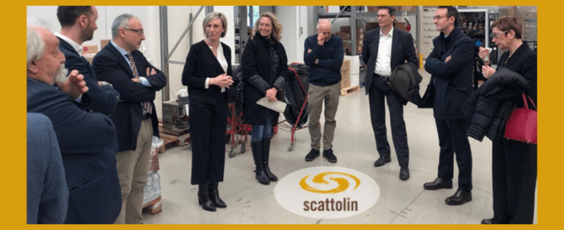 Direttiva plastica UE. Un incontro tecnico presso la Scattolin DA