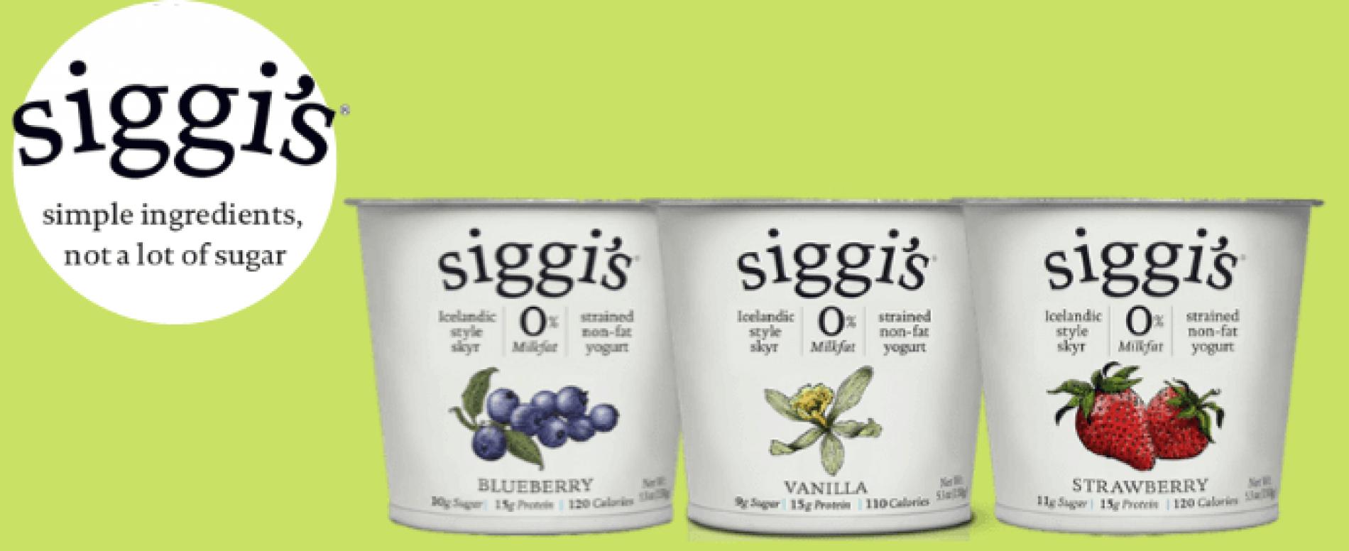 Arriva anche in Italia Siggi's, lo yogurt islandese tutto natura