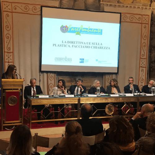Convegno al Senato sulla Direttiva UE sulla plastica monouso