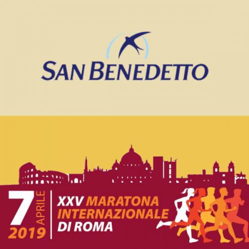 San Benedetto è sponsor della Maratona Internazionale di Roma
