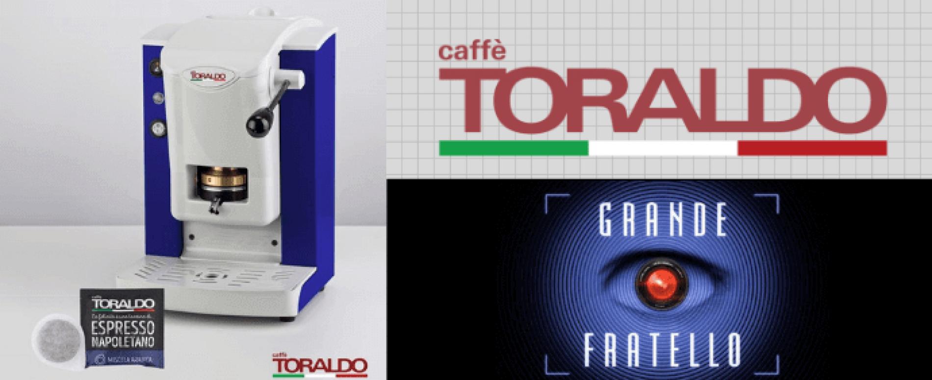 Caffè Toraldo è il caffè ufficiale della casa del Grande Fratello