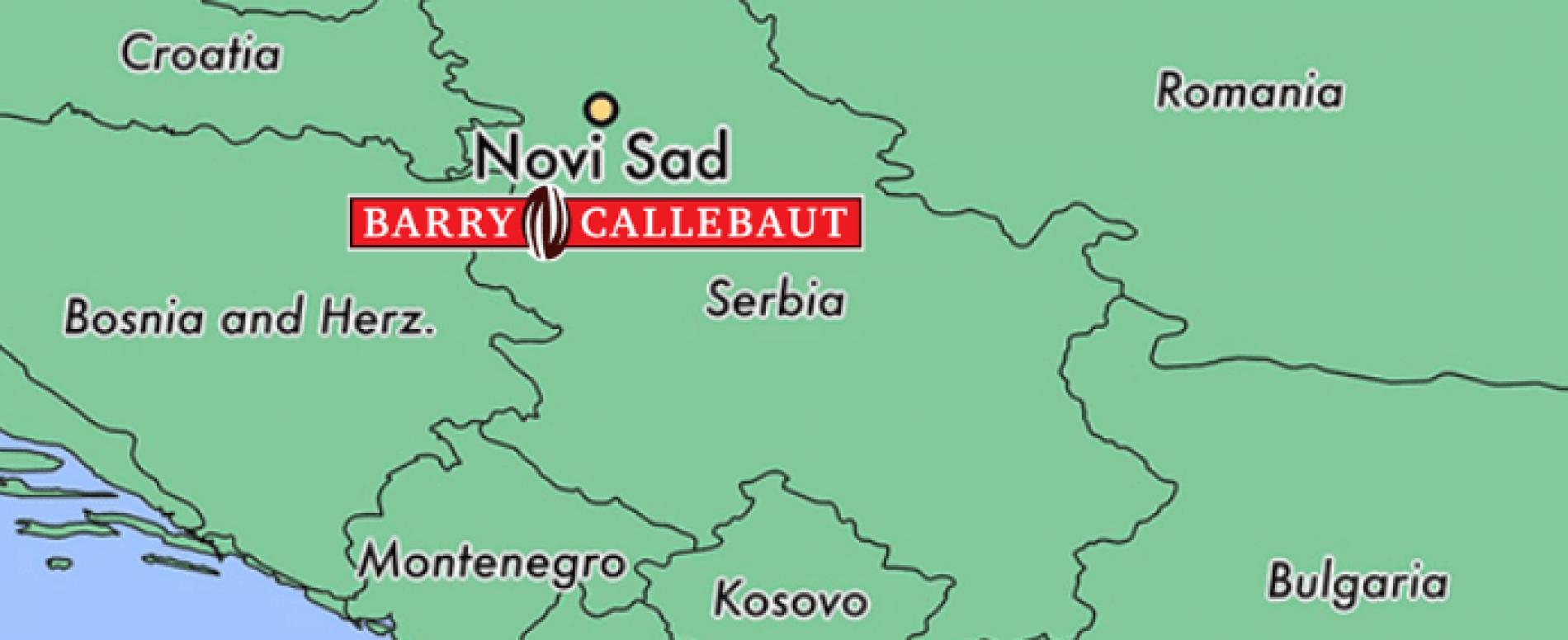 Barry-Callebaut apre la prima fabbrica nel Sud-Est d'Europa