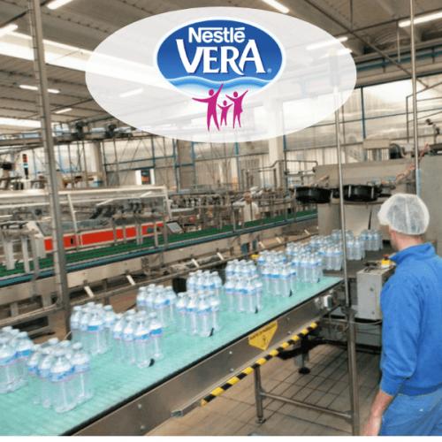 Acqua Vera. Riorganizzazione delle linee produttive
