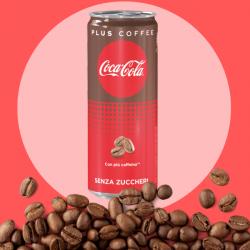 Arriva in Italia Coca-Cola Plus Coffee in lattina da 250 ml