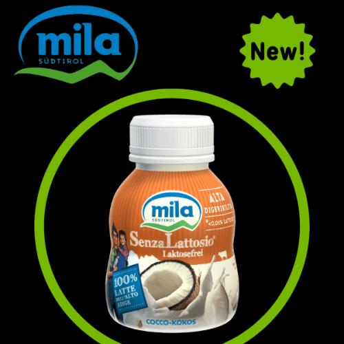 Mila presenta lo yogurt senza lattosio al nuovo gusto cocco