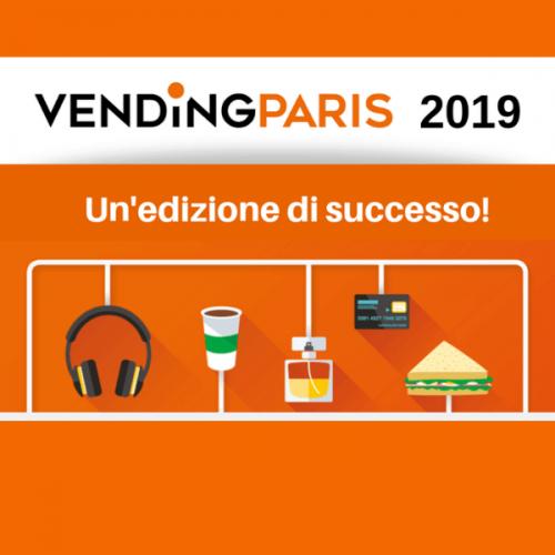 Vending Paris 2019. Un'edizione di successo
