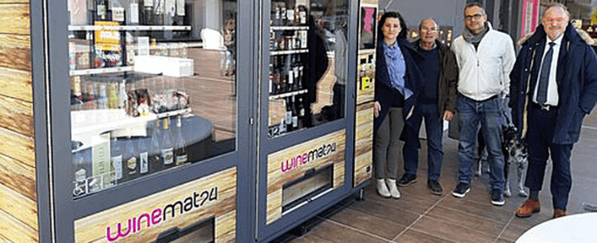 Winemat24, erogatore di vino e birre, raddoppia in Liguria