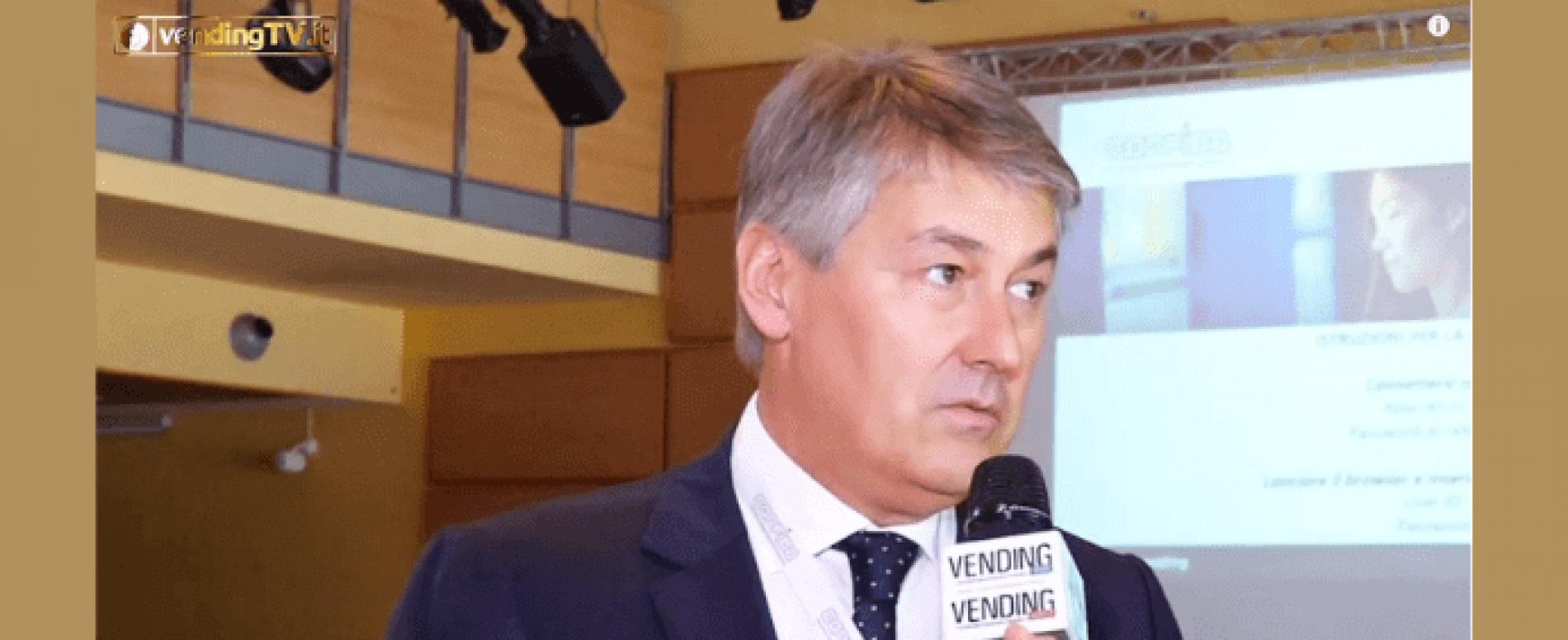 """VendingTv. Intervista con M. Trapletti al convegno """"Tecnologia e Distribuzione Alimentare"""""""