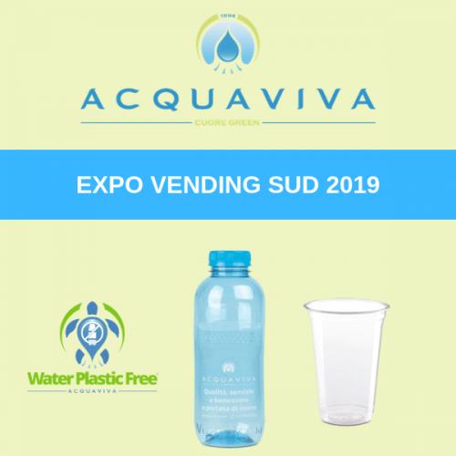 Acquaviva porta il suo cuore green a Expo Vending Sud 2019