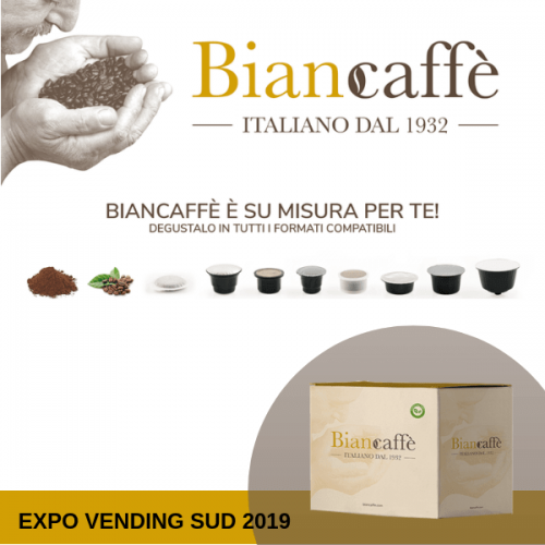 Biancaffè porta i suoi valori a Expo Vending Sud 2019