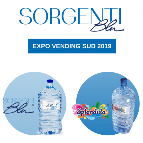 A Expo Vending Sud le soluzioni per l'acqua da bere di Sorgenti Blu