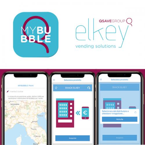 MYBUBBLE di ELKEY sbarca sull'Apple Store