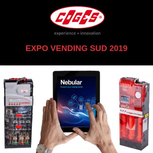 Coges a Expo Vending Sud 2019 insieme a GE.O.S Sicilia