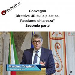 """Vending TV. Convegno """"Direttiva UE sulla plastica."""" – Seconda parte"""