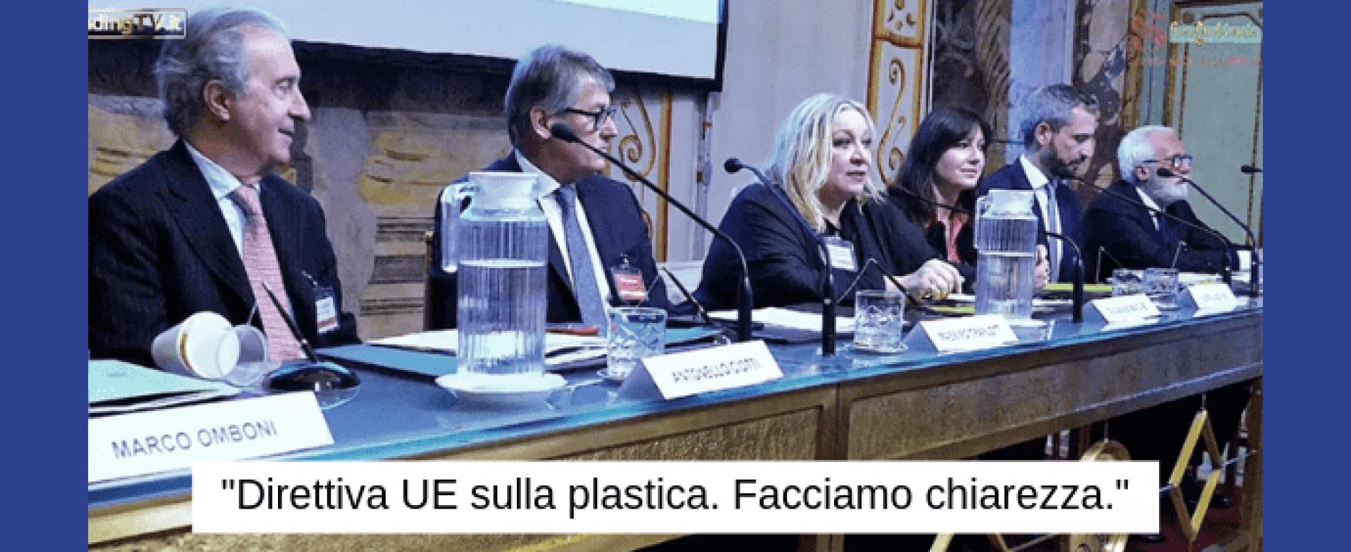 """Vending TV. Convegno """"Direttiva UE sulla plastica."""" – Prima parte"""