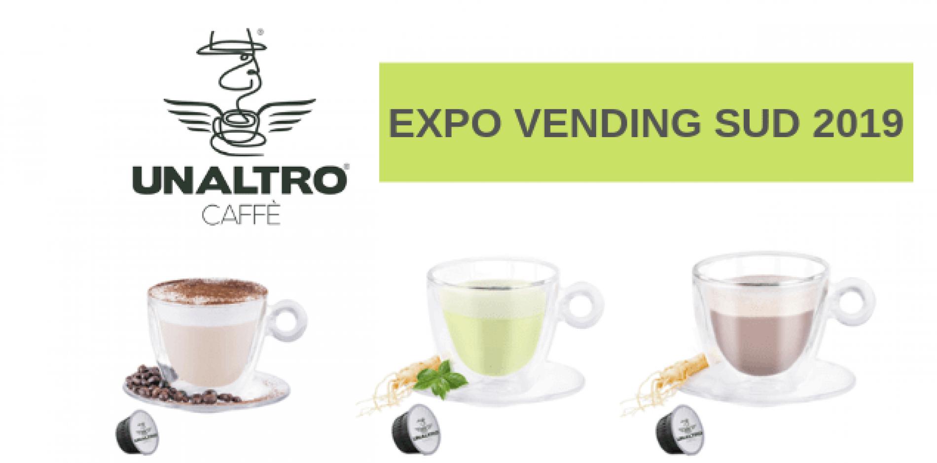 UNALTRO a Expo Vending Sud con le sue bevande gourmet