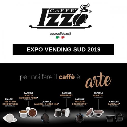 Caffè Izzo a Expo Vending Sud celebra il 40° con tante novità