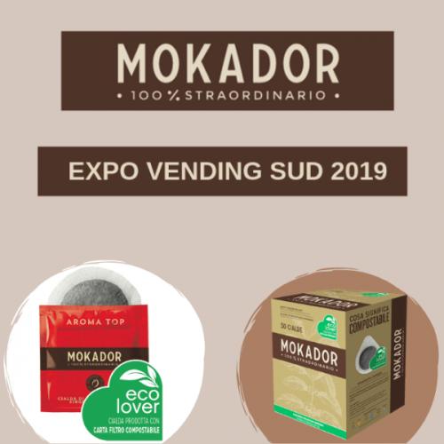 """Mokador a Expo Vending Sud con la sua offerta """"100% straordinaria"""""""