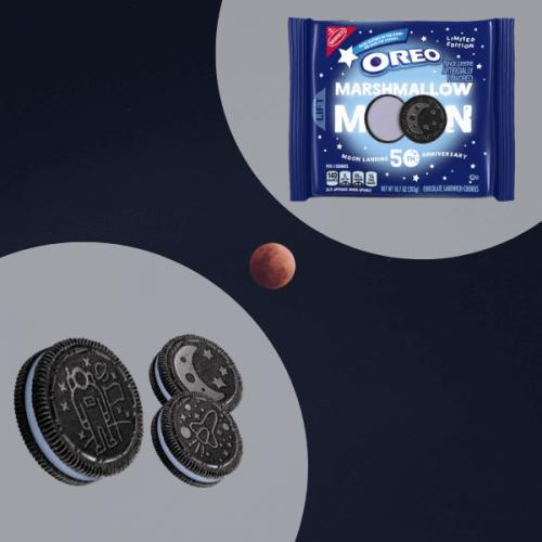 OREO celebra il 50° anniversario dello sbarco sulla luna