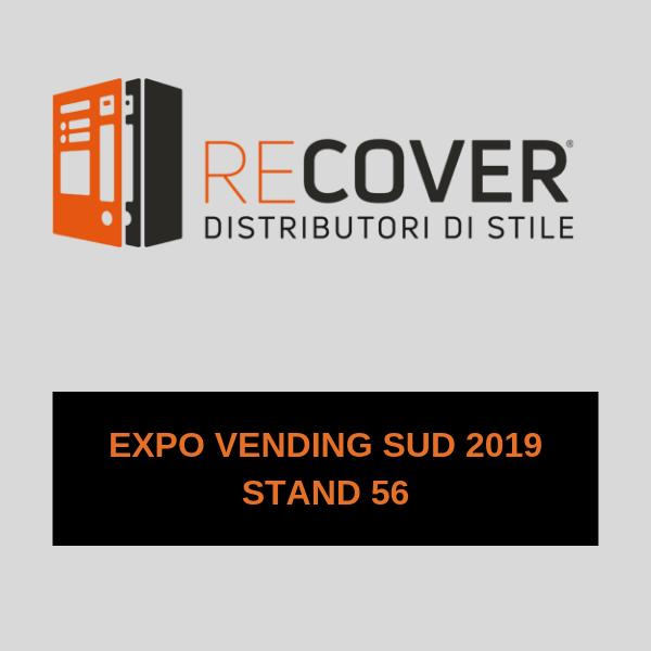RECOVER a Expo Vending Sud con i suoi distributori di stile