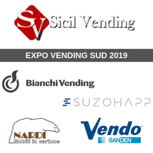 Sicil Vending a Expo Vending Sud con i suoi top partner