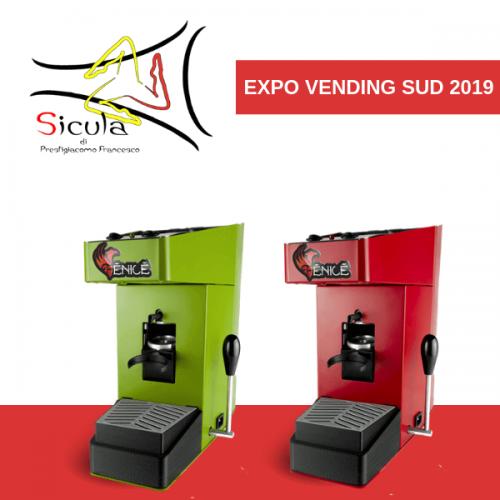 A Expo Vending Sud 2019 Sicula presenta Fenice ed Egizia