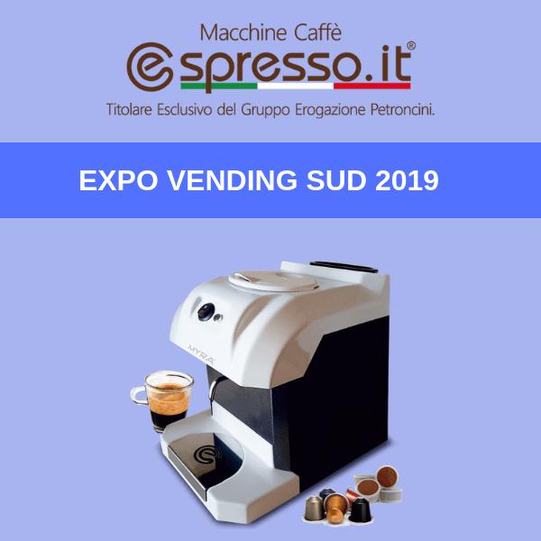 A Expo Vending Sud 2019 tutte le novità di @spresso