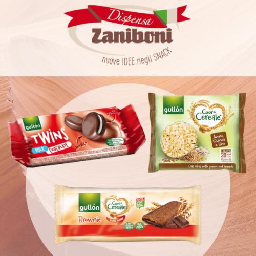 Dispensa Zaniboni lancia nel vending la linea Cuor di Cereale di Gullon