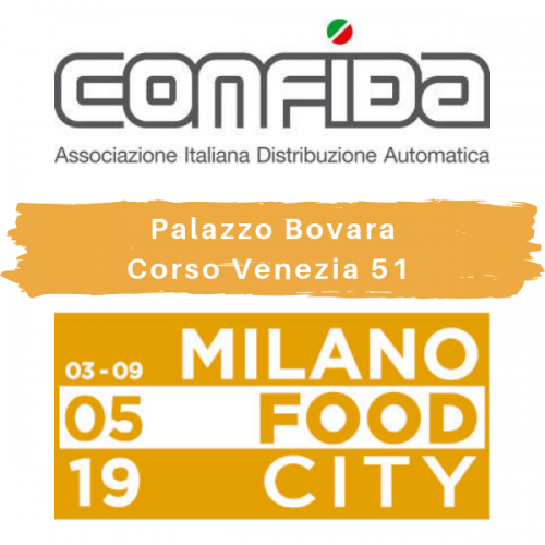 CONFIDA porta la tecnologia vending a Milano Food City