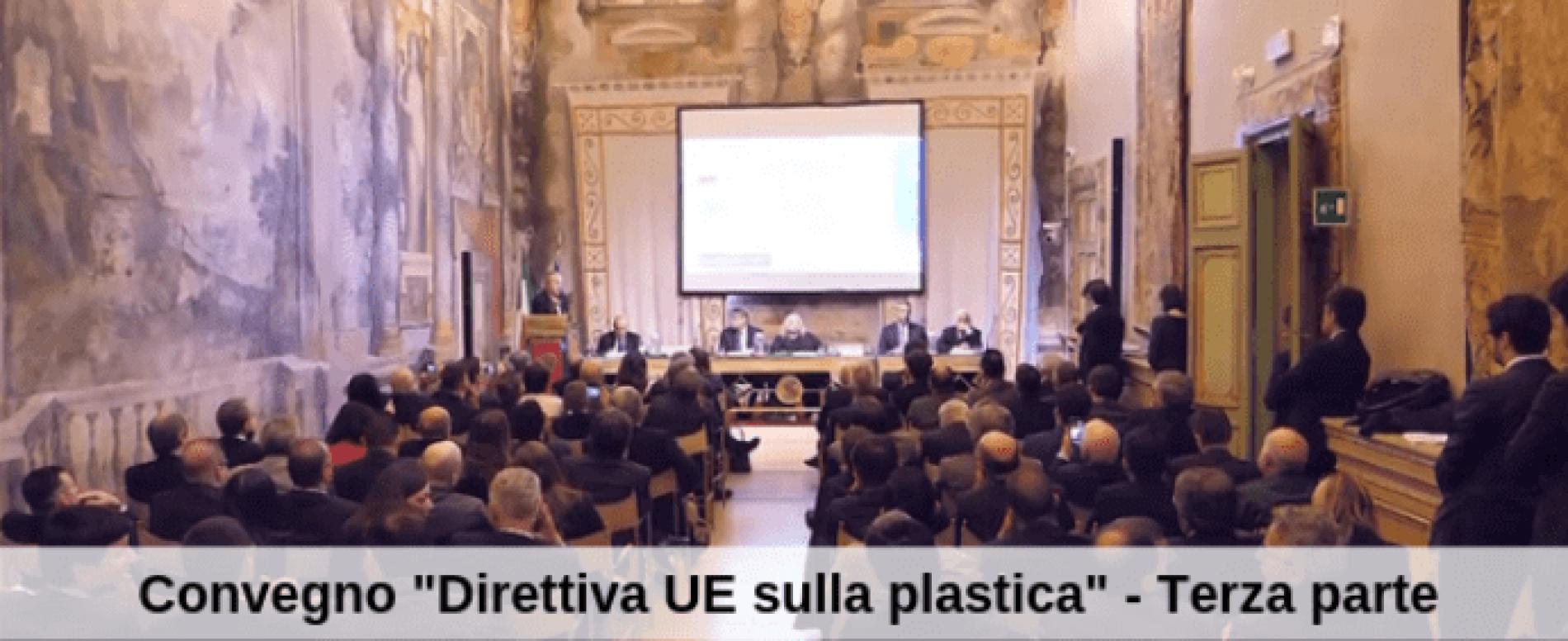 """Vending TV. Convegno """"Direttiva UE sulla plastica."""" – Terza parte"""