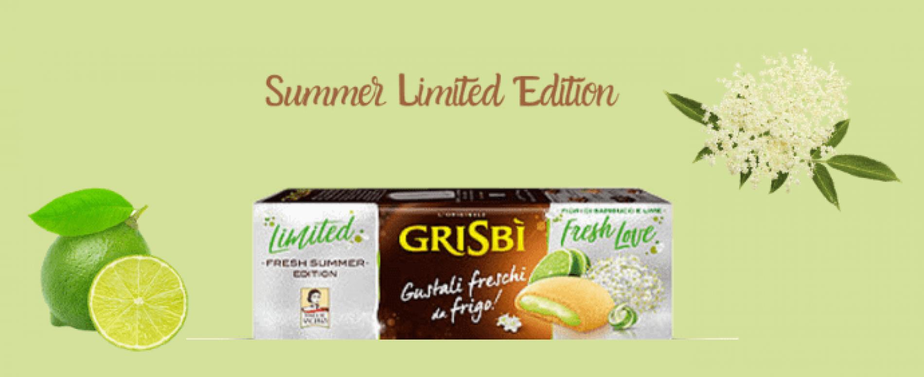 Grisbì lancia Fresh Love ai fiori di sambuco e lime