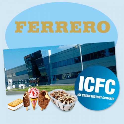 Ferrero acquisisce il primo produttore di gelati spagnolo