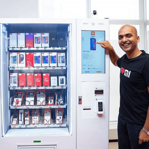 Xiaomi lancia in India la vending machine di smartphone