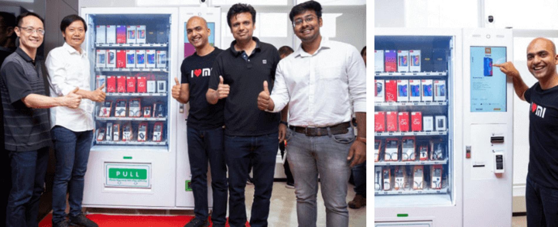 Xiaomi lancia in India la vending machine di smartphone
