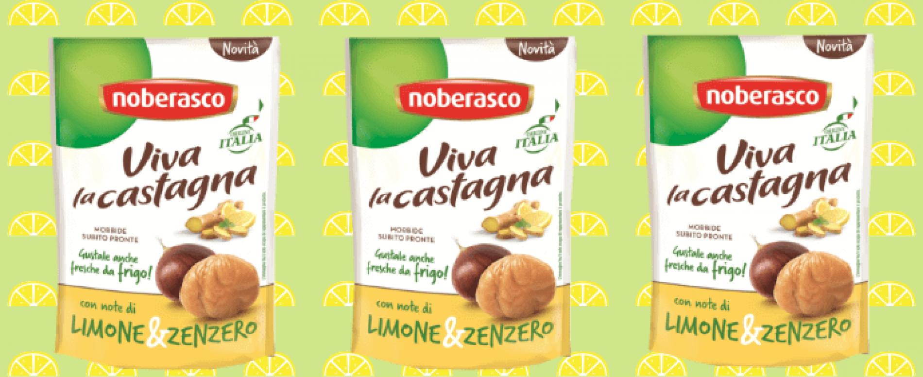 Noberasco trasforma le castagne in uno snack estivo