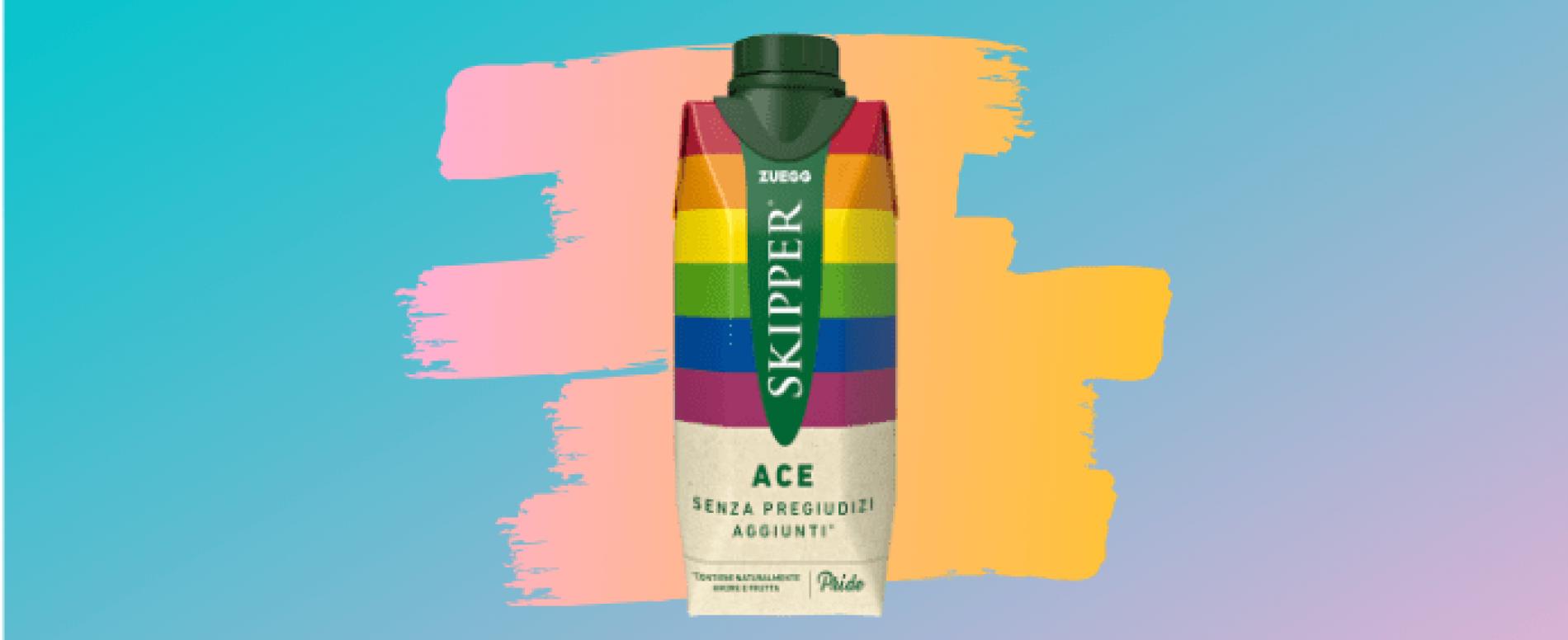 """Skipper per il pride 2019 con il succo """"senza pregiudizi aggiunti"""""""