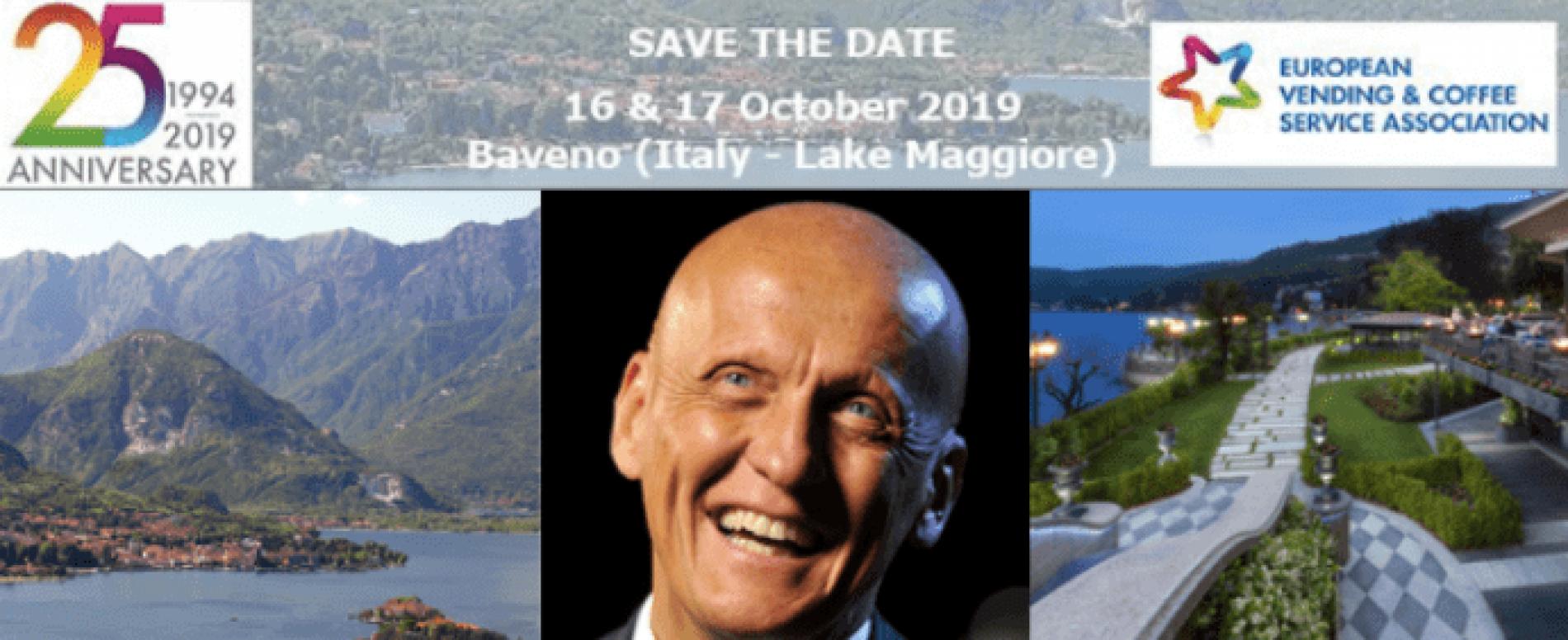 Tutto pronto per EVEX 2019, l'evento che riunisce il Vending europeo