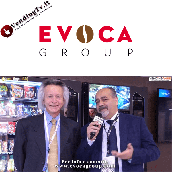 Vending Paris 2019. Intervista allo stand EVOCA Group