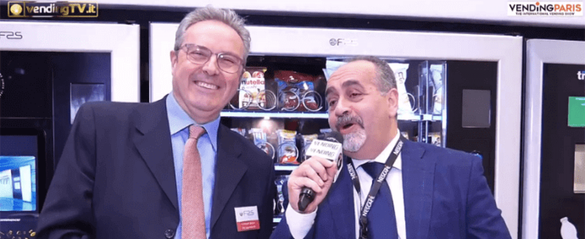 Vending Paris 2019. Intervista allo stand FAS International