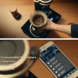 La macchina per il caffè filtro che imita il barista professionista