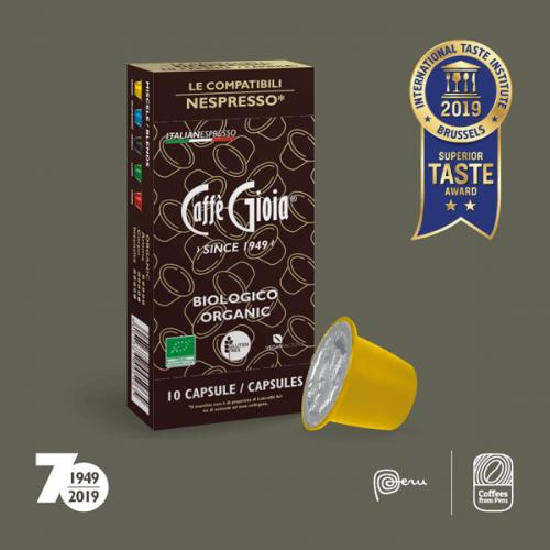 Caffè Gioia conquista le due stelle al Superior Taste Award