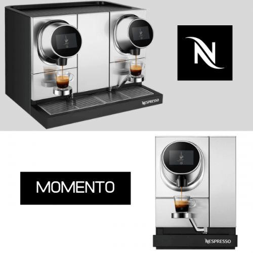 Con N-Cube e Momento Nespresso punta al Vending