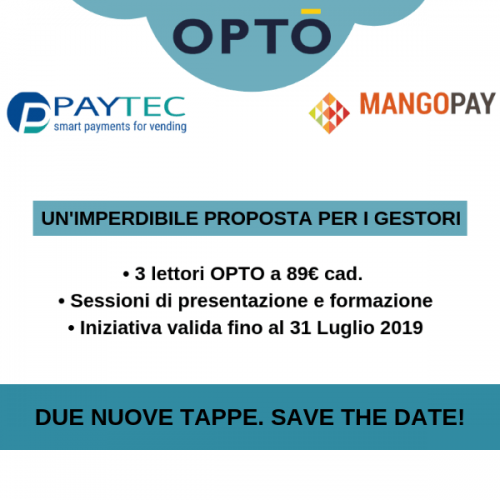 Ultimi giorni per approfittare dell'offerta OPTO di Paytec e Mangopay