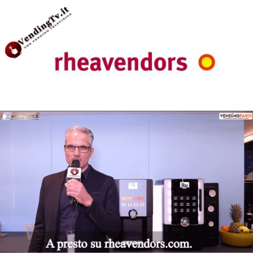 Vending Paris 2019. Intervista allo stand Rheavendors