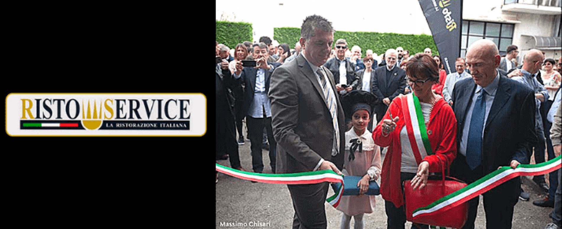 Risto Service inaugura il nuovo stabilimento di Arcore