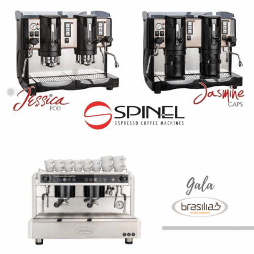 Spinel e Bianchi Industry insieme in Brasile per il FISPAL CAFE'